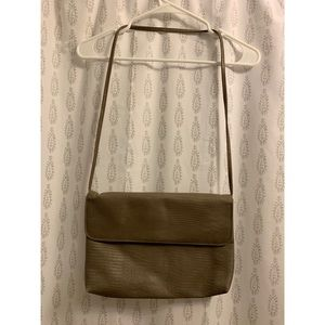 Beautiful Taupe Vintage Purse